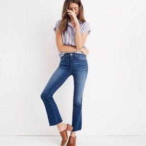 Madewell Cami Demi Boot Jeans - 31P